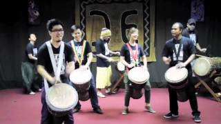 Djembe Pyramid of Rhythm TTM Singapore 2011