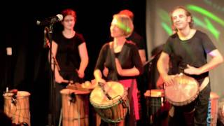 Djembe Das beatfactory Fest 2011 - nabum part 1