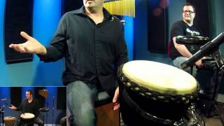 Hand Drumming Djembe - Free Drum Lessons